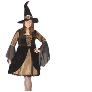 Fun World Other - Sexy Sweet Witch Costume Dress & Hat